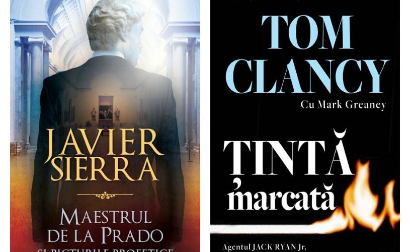 """""""Țintă marcată"""" și """"Maestrul de la Prado"""" – noile volume lansate de RAO"""