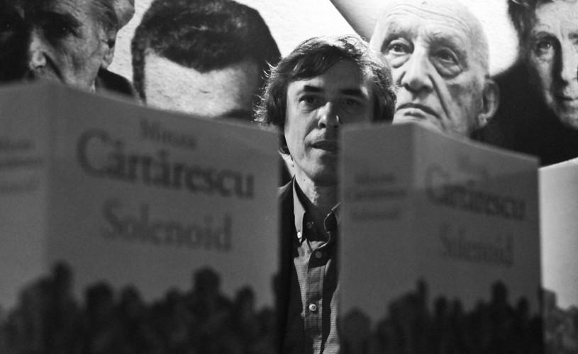 """Mircea Cărtărescu îşi prezintă """"Solenoid-ul"""" la Humanitas Cişmigiu"""
