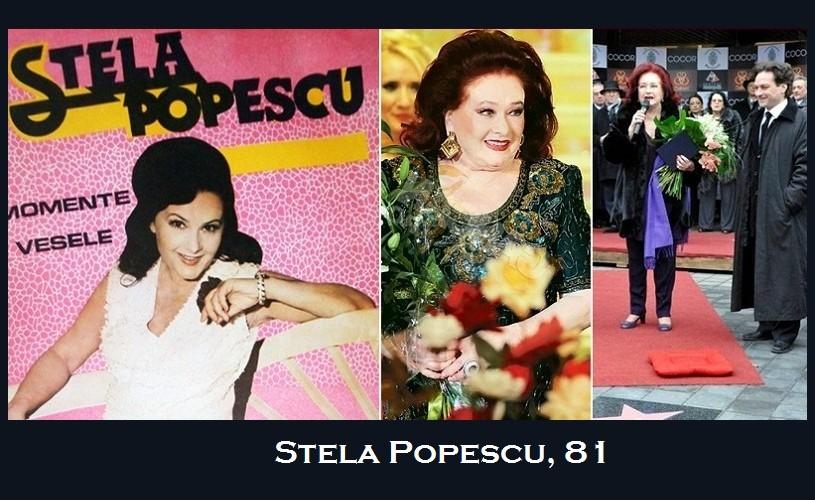 Stela Popescu, 81