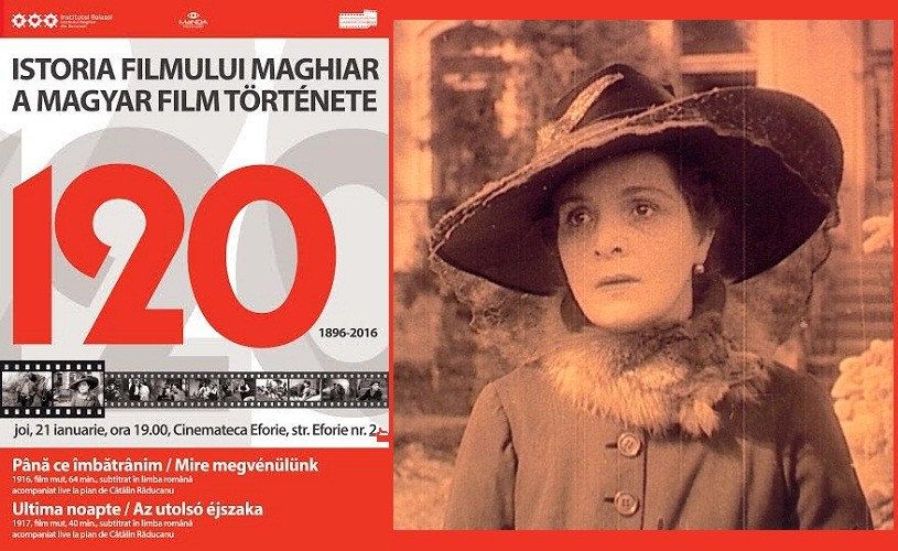 120 de ani de istorie a filmului maghiar, la Bucureşti