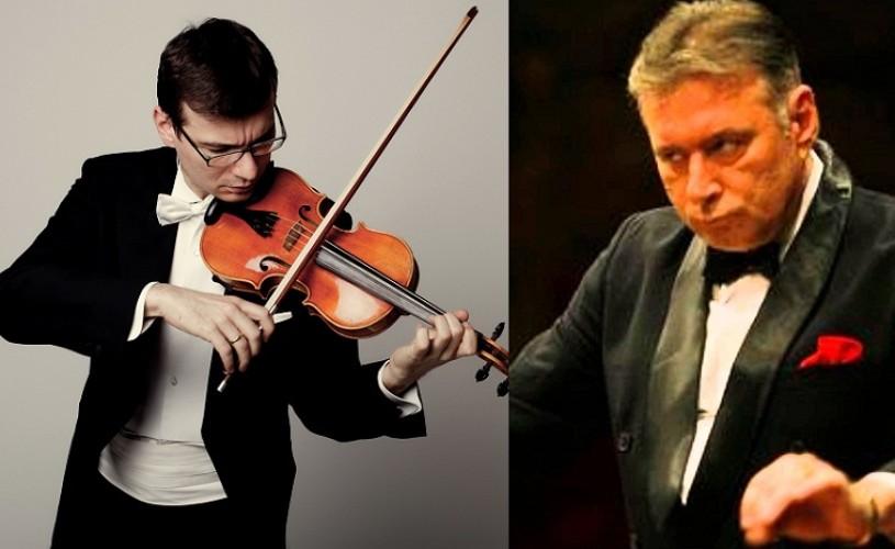 Alexandru Tomescu şi Mădăin Voicu împreună pe scena Sălii Radio
