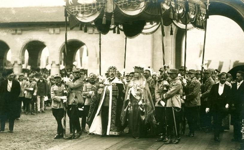Încoronarea regelui Ferdinand și a reginei Maria, scoasă la licitație