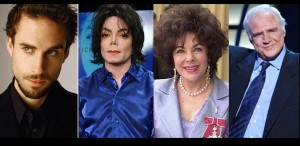 Comedie despre Michael Jackson, Marlon Brando şi Elizabeth Taylor