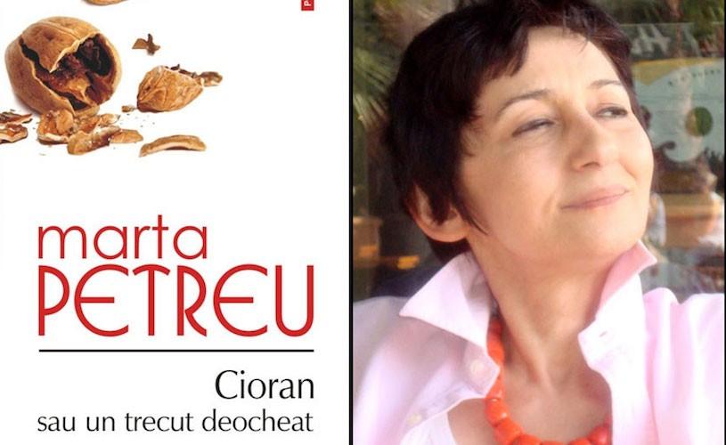 """Volumul """"Cioran sau un trecut deocheat"""", de Marta Petreu, a fost publicat în italiană"""