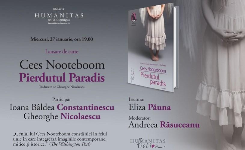 """""""Pierdutul paradis"""" de Cees Noteboom,o stranie şi minunată poveste despre iubire"""