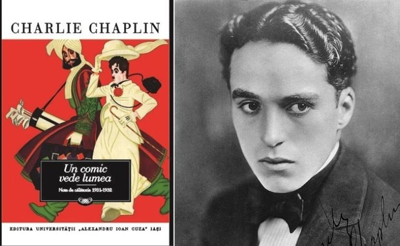 Lansare  Charles Chaplin, la Cinemateca Eforie, cu Tudor Caranfil