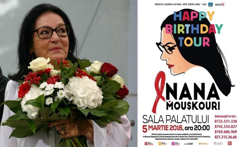 Nana Mouskouri, live la București