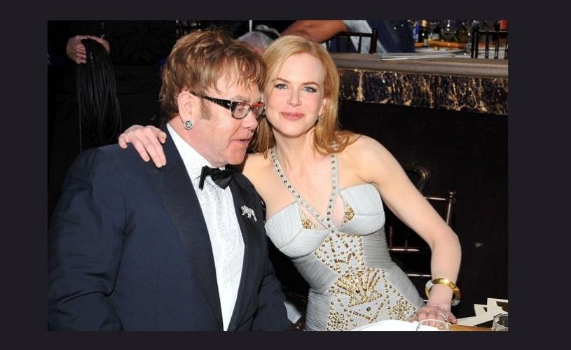 Elton John și Nicole Kidman, invitaţi speciali la Festivalul Cântecului Italian Sanremo