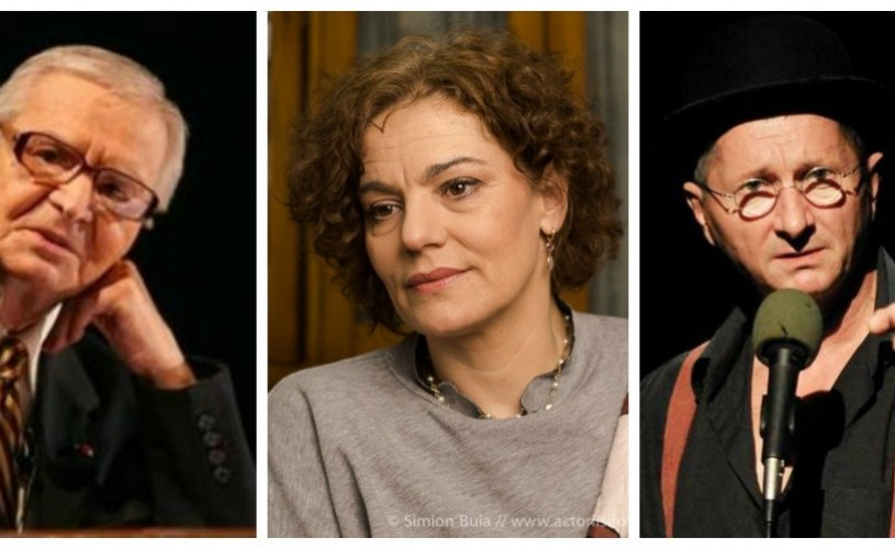 Radu Beligan, Maia Morgenstern și Horaţiu Mălăele, printre cei mai iubiți actori ai publicului bucureștean