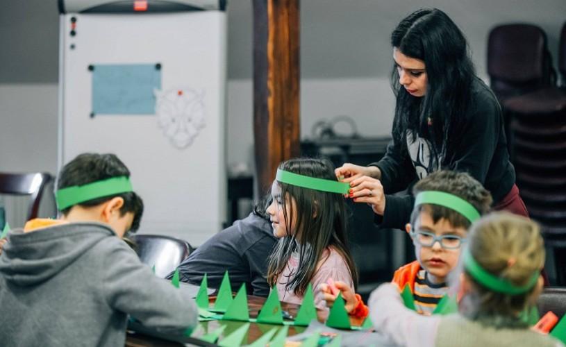 Ateliere pentru copii dedicate vacanței și Zilei Brâncuși – Teatrul Gong