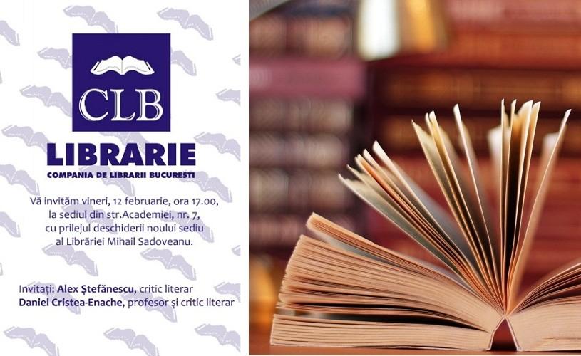 """Se inaugurează noul sediu al Librăriei """"Mihail Sadoveanu"""""""