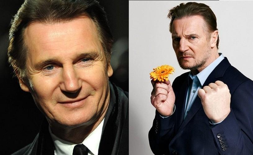 Liam Neeson, femeile şi florile proaspete