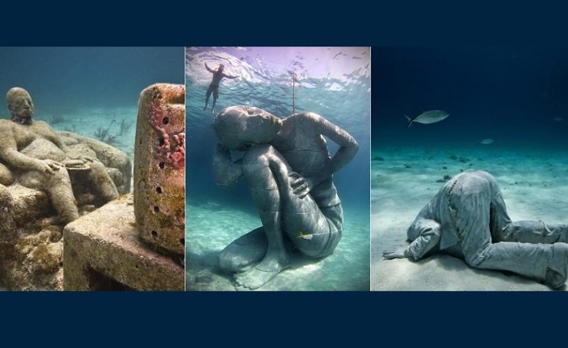 Cel mai mare muzeu subacvatic din lume, din 25 februarie