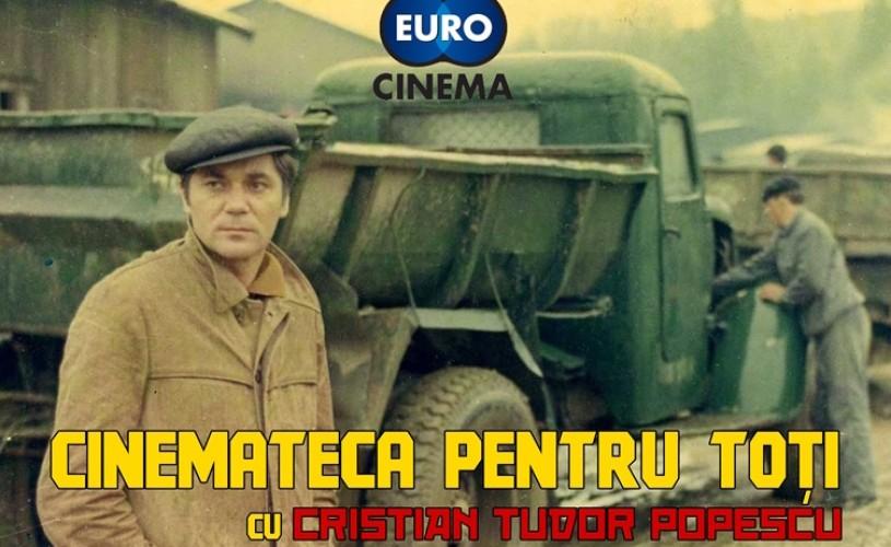 """Noile prelegeri ale """"Cinematecii pentru toţi"""", cu Cristian Tudor Popescu"""