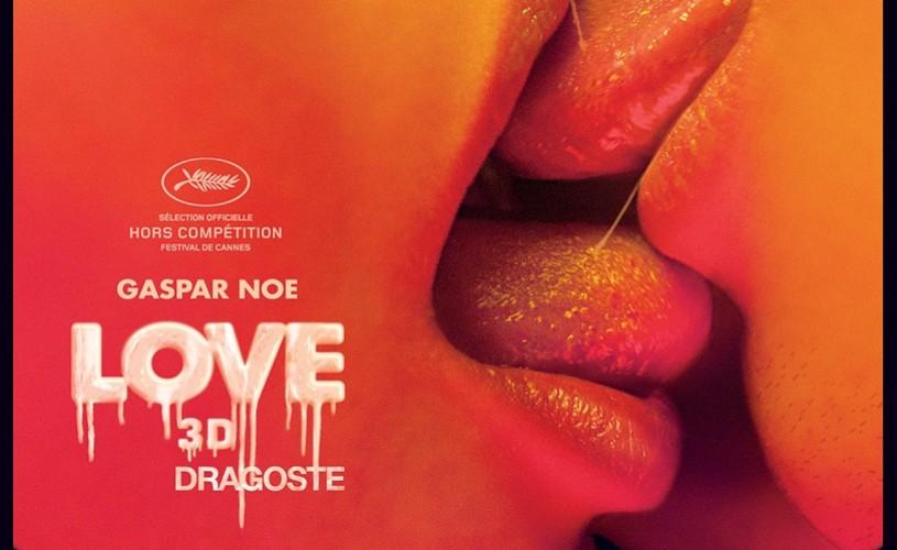 LOVE 3D (18+), o nouă provocare semnată Gaspar Noé, din 18 martie în cinematografe