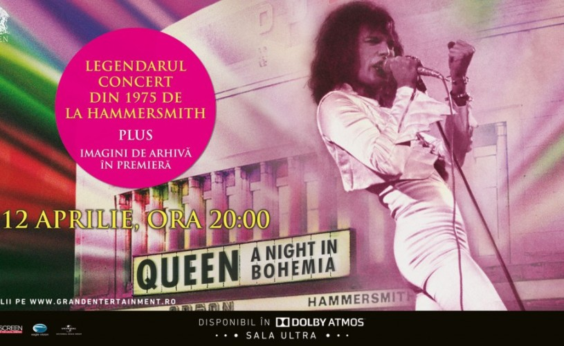 Queen: A Night in Bohemia, la Grand Cinema & More