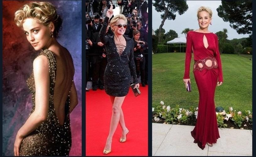Sharon Stone, 58!