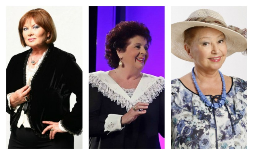 Florina Cercel, Adela Mărculescu și Rodica Popescu-Bitănescu, omagiate pe Aleea Celebrităţilor