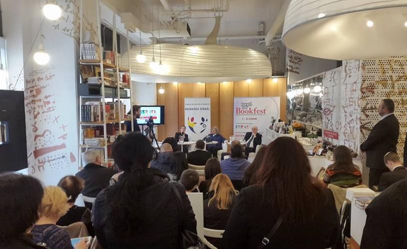 Scriitorii israelieni Zeruya Shalev, Fania Oz-Salzsberger şi Meir Shalev, la Bookfest 2016