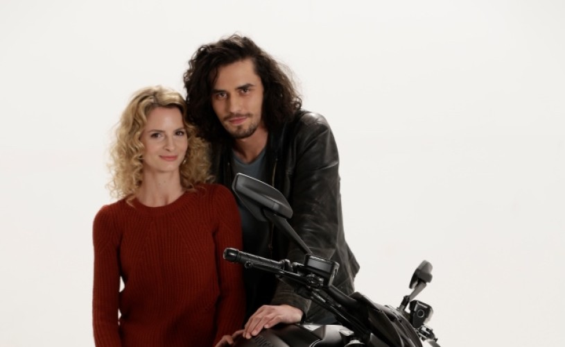 Iubire ca-n filme: Pavel Ulici și Nicoleta Hâncu sunt protagoniștii din Minte-mă frumos în Centrul Vechi