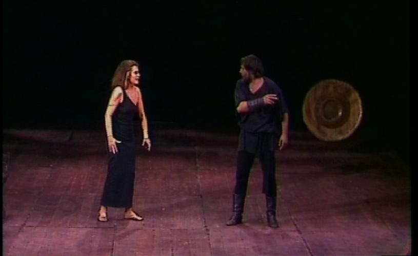 Antoniu și Cleopatra, cu Gina Patrichi, la TVR 2