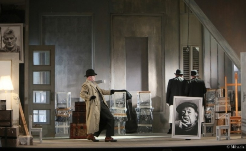 """Noul locatar"", Eugène Ionesco & Tompa Gábor , la TVR 2"