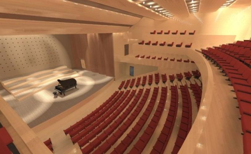 Sală nouă de concerte în București. 2.400 de locuri, 55 de milioane de euro