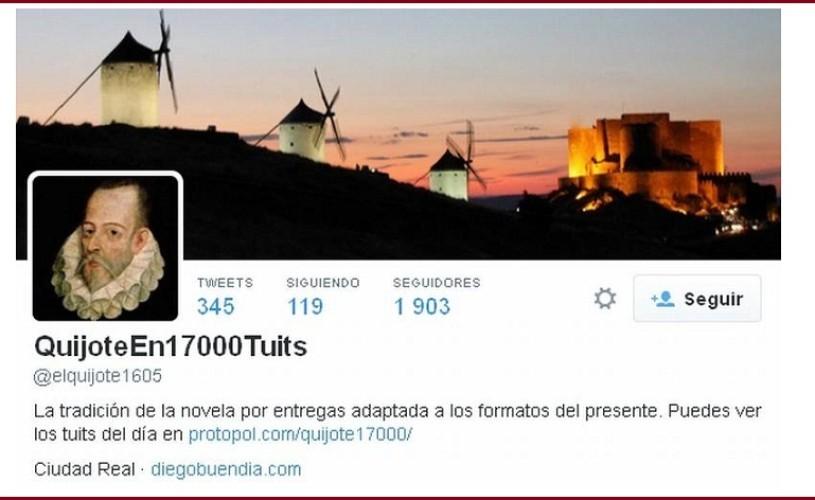 "Un spaniol a postat ""Don Quijote"" pe Twitter, în 17.000 de mesaje"
