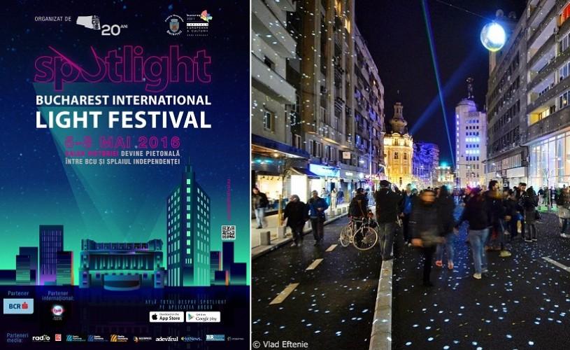 Spotlight/ Festivalul Luminii, între 5 şi 8 mai, la Bucureşti