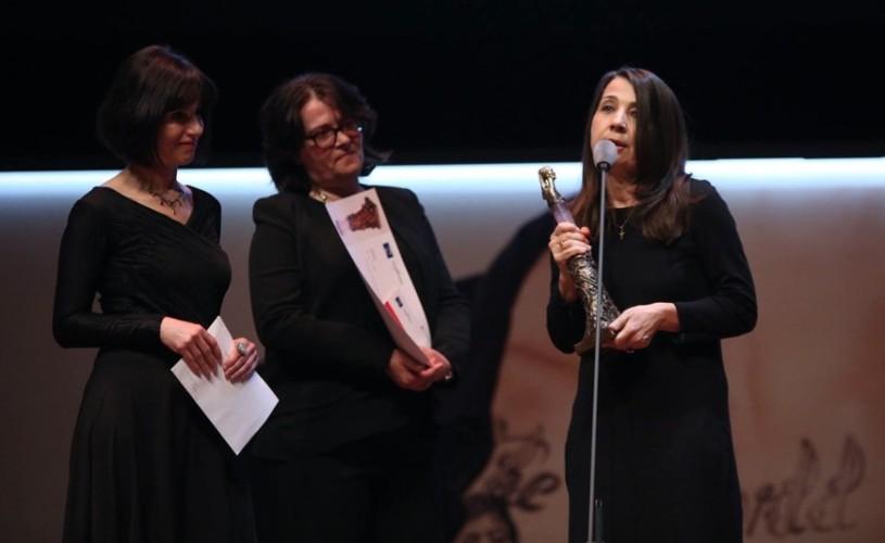 """Anca Damian, câștigătoarea premiului """"Audentia"""" al Festivalului de Film de la Istanbul"""