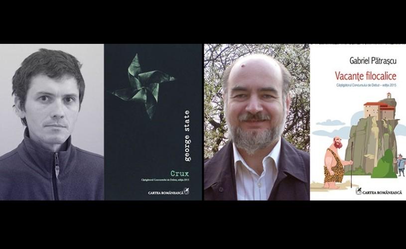 Vacanţe filocalice şi Crux, Premiile pentru debut ale Editurii Cartea Românească