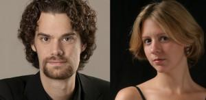 Dirijorul MARIJN SIMONS și pianista KARINA ȘABAC, la Sala Radio