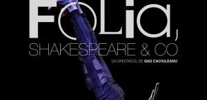 """""""Folia, Shakespeare & CO"""", de Gigi Căciuleanu, la TNB"""