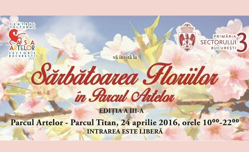 Sărbătoarea Floriilor în Parcul Artelor