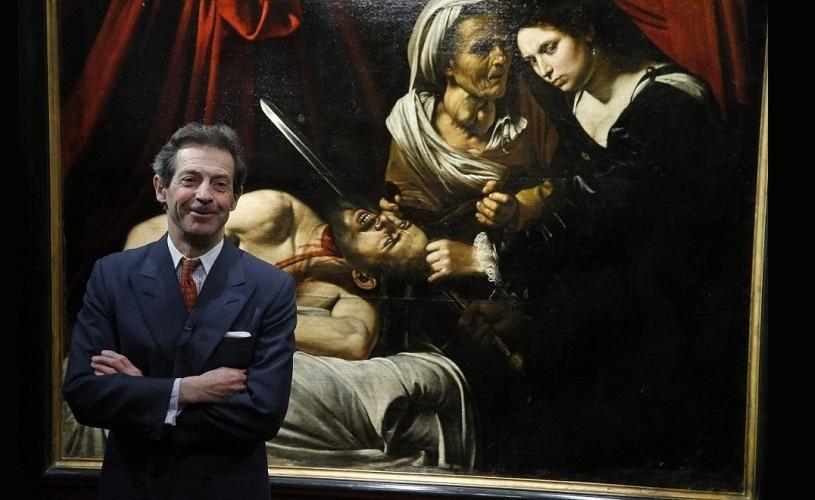 """Tabloul descoperit într-un pod din Franța este un Caravaggio """"autentic"""""""