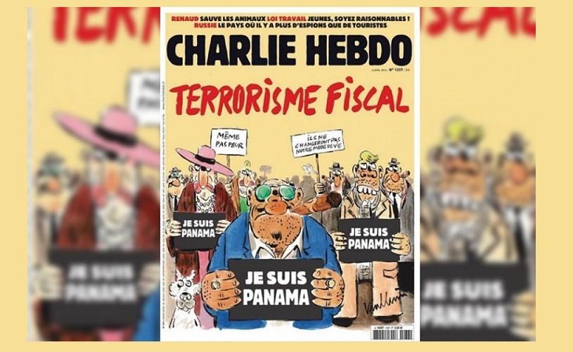 """""""Je suis Panamá"""", sloganul Charlie Hebdo pentru cei bogați"""