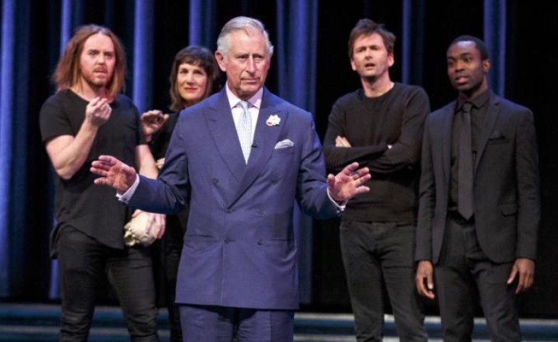 Prințul Charles a jucat în Hamlet