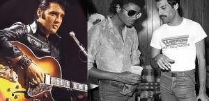 Elvis, Michael şi Fredie, scoşi la licitaţie
