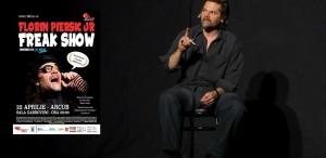 13 personaje, un singur actor: Freak Show, cu Florin piersic Jr, la Arcub