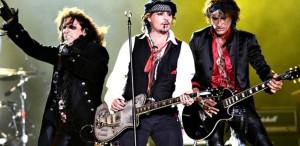 Johnny Depp va concerta, în premieră, în România