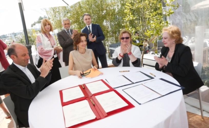 Convenție de cooperare în domeniul cinematografiei, semnată la Cannes