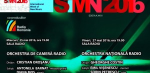 Săptămâna Internațională a Muzicii Noi, la Sala Radio