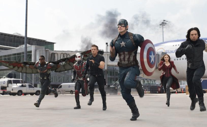 """""""Captain America: Război Civil"""", filmul care divizează super eroii"""
