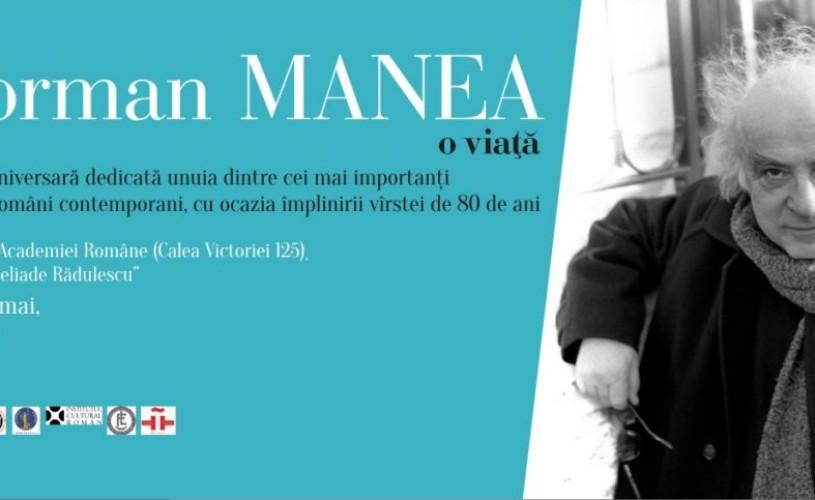 Norman Manea, aniversat la 80 de ani