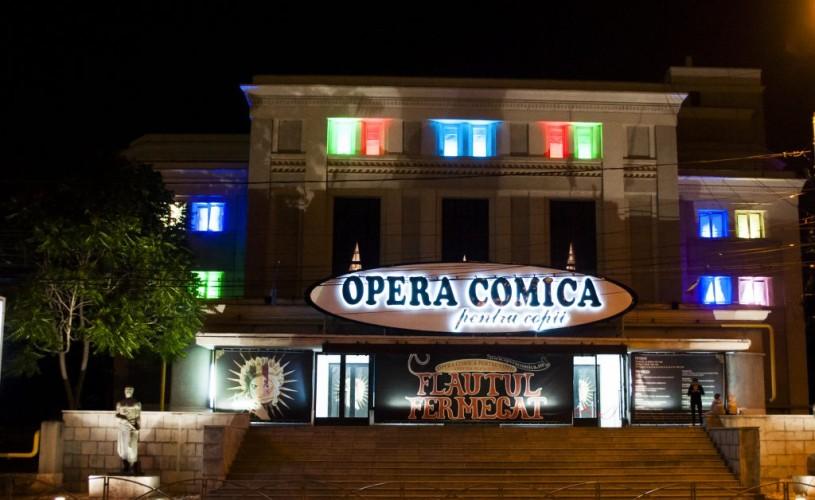 Expozitie de costume și vizită în spații secrete ale Operei Comice pentru Copii