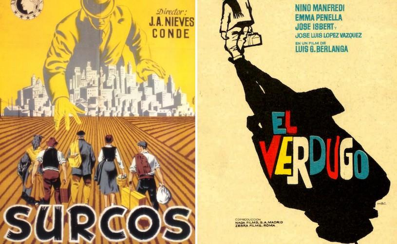 O fereastrã cãtre arta graficã spaniolã: afişe de film din anii 50´, 60´ şi 70´