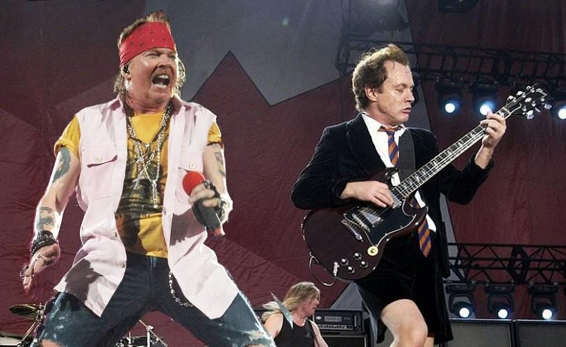AC/DC a început turneul european cu Axl Rose în rol de solist