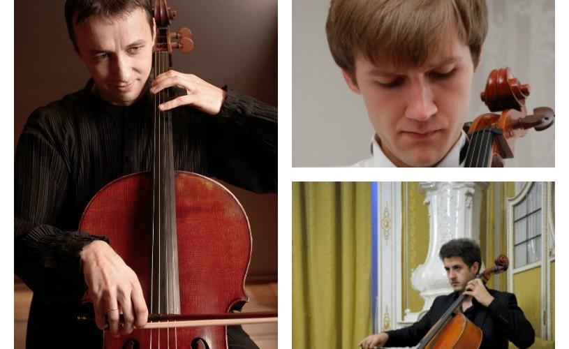 Trei mari violonceliști români –în același concert, pe scena Sălii Radio