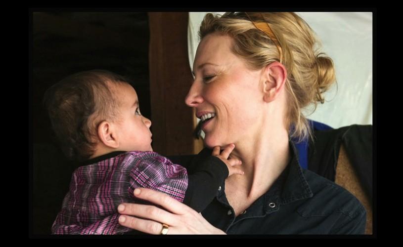 Cate Blanchett, noul ambasador al bunăvoinței pentru UNHCR