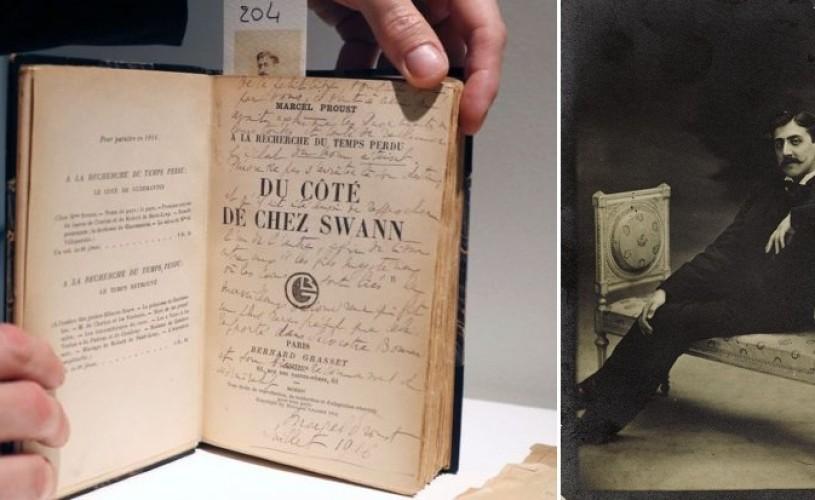 Arhivele lui Marcel Proust, scoase la licitație